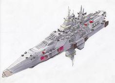 Commission: Battleship by Jepray.deviantart.com on @DeviantArt
