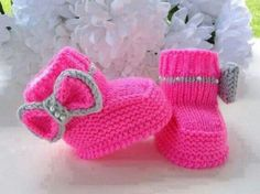 Baby Boots Knit on Etsy, kid kid boy girl Baby Baby Knitting Patterns, Pattern Baby, Baby Patterns, Free Knitting, Baby Girl Shoes, My Baby Girl, Baby Love, Baby Baby, Knitted Baby Boots