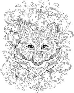 Creative Haven Fanciful Foxes Coloring Book Welcome to Dover Publications                                                                                                                                                                                 More