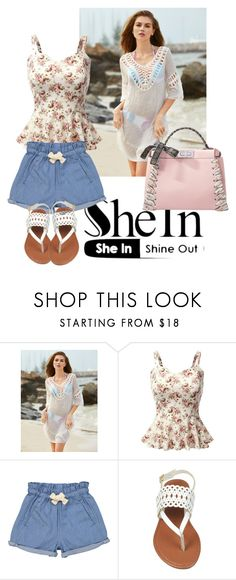 """she"" by analyst ❤ liked on Polyvore featuring Doublju, Tootsa MacGinty and Fendi"