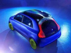 Renaul Twin´Z, elétrico da Renault em parceria com o designer britânico Ross Lovegrove