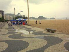Copacabana beach, Rio de Janeiro. Brazil. #Copacabana_beach, #Rio_de_Janeiro, #Brazil, #Brasil