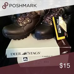 Boys size 12 Deer Stags insulated boots These children's boots are brand new with tags. Never worn before. Deer Stags Shoes Boots