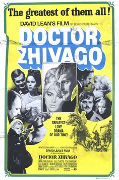 Doctor Zhivago 1965 starring Omar Sharif Czarist regime comes to an end. Film based on the  Pulitzer Prize winning novel by Boris Pasternak