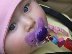 What should I know about giving my breastfed baby a pacifier? • KellyMom.com