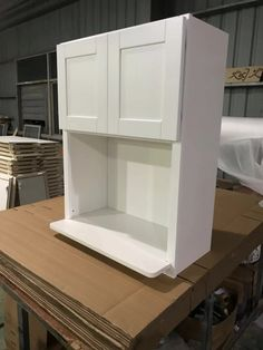 White Shaker Cabinets, Bathroom Medicine Cabinet, White Dressers