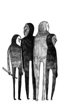Elin Sandström Illustration for Ordkonst