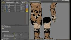 e.d.Films Tutorial: Rigging Multi-Layered Characters - Lesson 01