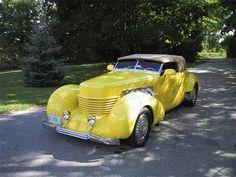1937 Cord 812 - Yellow Car