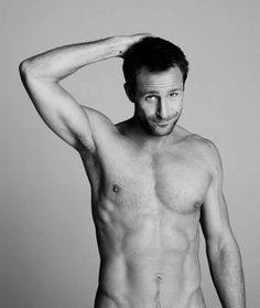 Jeremy Sheffield is supporting Give Up Clothes for Good, a TK Maxx, HomeSen - ...Yeah, so I clicked on the pic to see if it would show more... I was disappointed, then I had to laugh at my preverted self.  #yum!