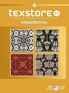 Vo l11 - Ornamentals: Inspirational Graphic Design For Fashion and Interiors