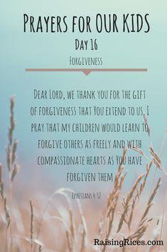 April - Prayer day 16