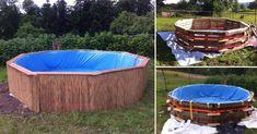 Cómo hacer tu propia piscina de pallets