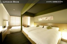 Guest Room|HOTEL KANRA KYOTO
