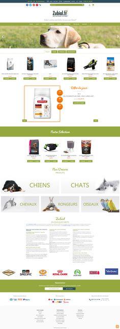 Créer une boutique en ligne d'accessoires Chiens - Freelance PrestaShop Croquettes Chat, Boutique Accessoires, Color Lenses, Pets, Dog Cat, Dogs