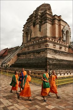 Path of Practice - Wat Chedi Luang by S Filer