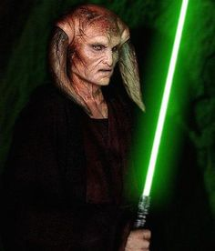 Saesee Tiin - Jedi Master and member of the Jedi High Council in the prequel trilogy and Clone Wars TV series. He was one of the four Jedi Masters who died trying to arrest Palpatine.