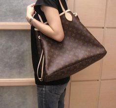 Louis Vuitton Neverfull.  One day....