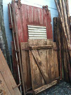 Old Barn Door North Portland Salvage Works Old Barn Doors, Vintage Props, Old Barns, My Town, Portland, Oregon, Repurposed, Decor Ideas, Gardening