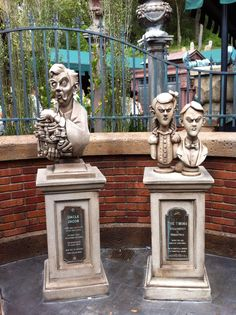 Haunted mansion-make some busts?