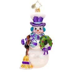 radko-nippy-the-snowman-ornament-1017512.jpg (1000×1000)