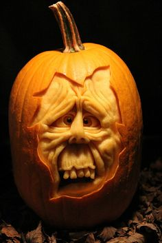 Extreme Pumpkin Carving for Halloween by MB Creative Studio