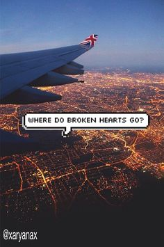 Where do broken hearts go for @acc5sos hope you like it! (I did not make this, only repinned)