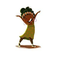 Trying to stay positive on Monday :) #illustration #illustrations #childrenart #childrenillustration #cartoon #characterdesign #littlegirl #happiness #joy #afro #artoftheday #art #digitalart #photoshop #colors #funny #artistsoninstagram #characterillustration #characterillustrator #monday #smile #felicità