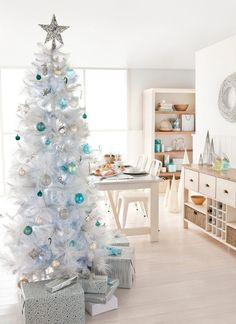 "Someday have a ""winter tree"" to brighten up the bleak winter months after Christmas."