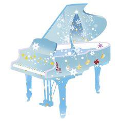 クリスマスのピアノイラスト Soft Pastel Art, Piano Art, Music Score, Children's Book Illustration, Illustrations, Music Artwork, Reference Images, Potpourri, Childrens Books