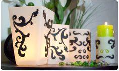 Fimo Tutorial 'Black pattern' lanterns tutorial - free download