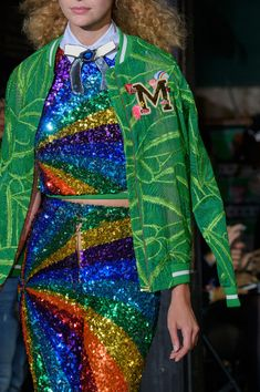 Manish Arora at Paris Fashion Week Spring 2017 - Details Runway Photos Metal Fashion, 3d Fashion, Fashion Details, Couture Fashion, Runway Fashion, High Fashion, Luxury Fashion, Fashion Show, Fashion Outfits