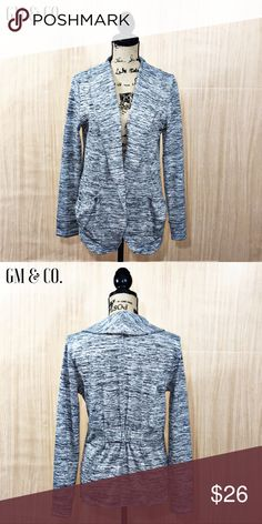 🍁🆕 BCG Open Front Cardigan 🍁🆕 BCG Open Front Casual Cardigan in Heather Grey. Super comfy! Has a gathering on the back to give it a bit of structure, two pockets, and ribbed cuffs. EUC. Size: M.   Thank you for stopping by my closet. Please let me know if you have any questions. 🍁GM BCG Sweaters Cardigans