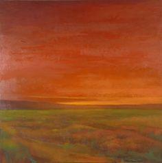 Jeannie Sellmer - Landscapes Artwork: Burnt Orange Sunset