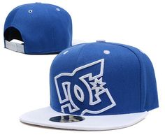 DC Snapback Hats Blue White|only US$20.00 - follow me to pick up couopons.