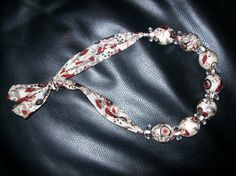 tie necklace, inspiration from here…