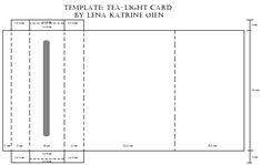 Lena Katrine`s Scrappeskreppe: DT Ett trykk: Issue Tutorial Tea-Light Card Card Making Templates, Card Making Tutorials, Making Ideas, Fun Fold Cards, Folded Cards, Paper Pop, Shaped Cards, Easel Cards, Craft Box