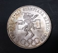 1968 Mexico Olympics 25 Pesos Silver .720 Ley Coin https://treasurevalleyantiques.com/products/1968-mexico-olympics-25-pesos-silver-720-ley-coin #Vintage #1960s #60s #Sixties #Mexico #Mexican #Olympics #Pesos #Silver #Coins #Cash #Currency #Money #Collectibles #Sports #Competitions #Countries #World #Competitive #Compete #CashMoney #Collectables