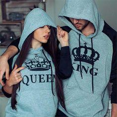 Heather King & Queen Hoodies