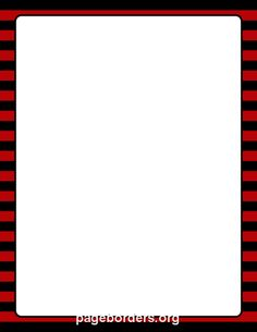 Printable red and black striped border. Use the border in Microsoft Word or other programs for creating flyers, invitations, and other printables. Free GIF, JPG, PDF, and PNG downloads at http://pageborders.org/download/red-and-black-striped-border/