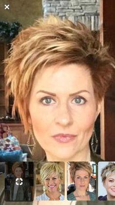 Hair Beauty - Makeup Short Haircuts In 2019 Funky Short Hair Short Short Choppy Hair, Funky Short Hair, Medium Short Hair, Edgy Hair, Short Hair With Layers, Short Hair Cuts For Women, Short Shaggy Haircuts, Short Funky Hairstyles, Funky Haircuts