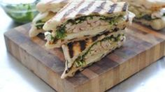 Made with refrigerated bread dough, leftover chicken, creamy brie, and fresh pear, these paninis couldn't be simpler.