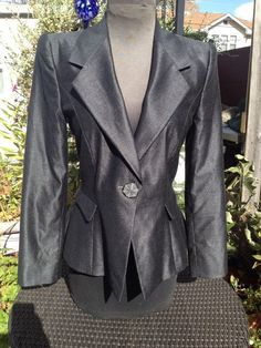 Giorgio+ARMANI+Wool/Silk+Blazer+Size+40+LUXE+Sexy+Superior+Quality+Auth.+Italian Make An Offer!!!!!!!!
