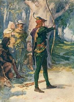 Image result for robin hood painting