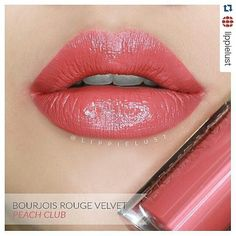 #Repost lippielust with @repostapp ・・・ . Bourjois Rouge Velvet Edition No. 4: Peach Club. _ i use ring light to create proper lighting, so you'll see the swatch a bit shiny than the actual color in real life. _ Store: @hopebeautyltd _ BOURJOIS REV become MORE AFFORDABLE!! Our REGULAR PRICE only at : - Shades 1, 3, 6, 13 ---> NOW : Rp. 188,000 - Shades 2, 4, 5, 7, 8-12, 14-15 ---> NOW : Rp. 198,000 - NEWEST Shade 16,17 will restock by March 25! Dapatkan POTONGAN DISCOUNT* : - pembelian 5…