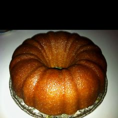 Kentucky Butter Rum Cake Rum Cake, Pound Cakes, Just Desserts, Bagel, Kentucky, Amanda, Cake Recipes, Good Food, Butter