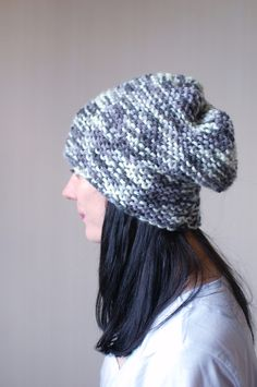 Simple, slouchy hat.