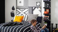 Was Neues fürs Schlafzimmer ‒ mit Textilklebeband