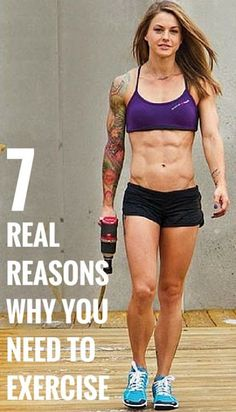 7 Real Reasons Why You Need To Exercise - Fitness Mints Body Fitness, Fitness Tips, Fitness Motivation, Female Fitness, Rogue Fitness, Sport Motivation, Physical Fitness, Best Weight Loss, Weight Lifting