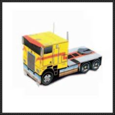 Marmon YR Truck Free Vehicle Paper Model Download - http://www.papercraftsquare.com/marmon-yr-truck-free-vehicle-paper-model-download.html